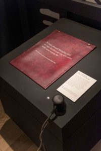 Letter with Audio Extract (C) Museum of London