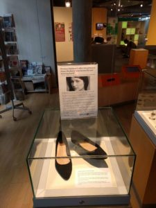 The stories of Hackney residents. These shoes are part of a sex discrimination lawsuit.