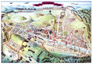 Sarajevo Escape Map 1996 © Miran Norderland