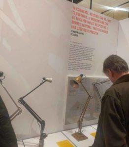 Anglepoise task lamp